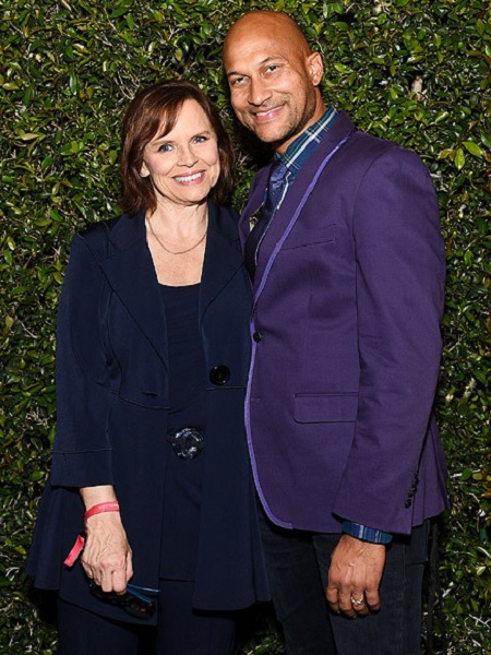 Keegan-Michael Key with his former wife, Cynthia Blaise