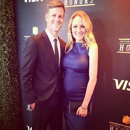 Lindsay Rhodes with husband Matt Rhodes