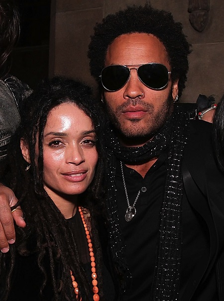 Lisa Bonet with her former husband Lenny Kravitz