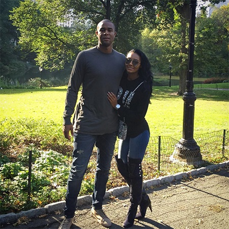 Shanieceh Hairston with boyfriend Zat Knight