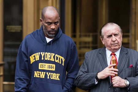 DMX and his lawyer Murray Richman
