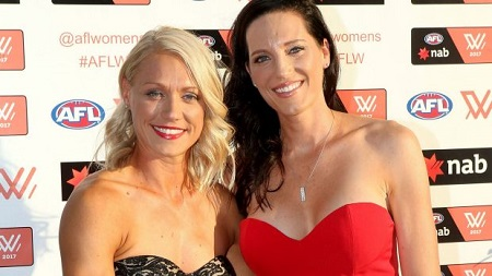 Erin Phillips is happily married to wife Tracy Gahan