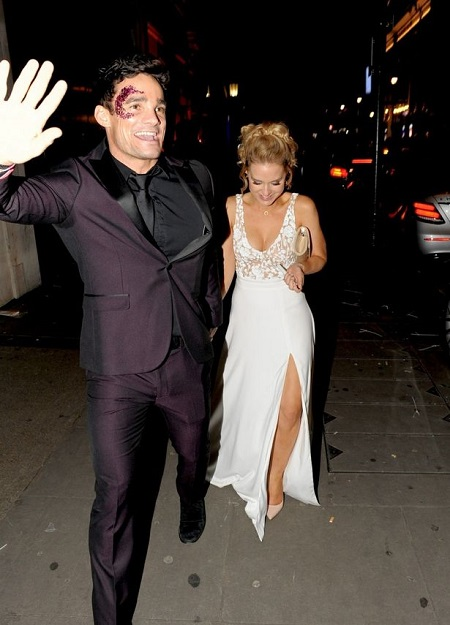 Stephanie Waring denied her romance with Max Evans