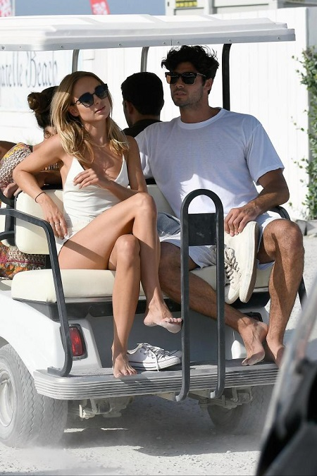 Kimberley Garner spotted with mysterious man after their separation with boyfriend of three years