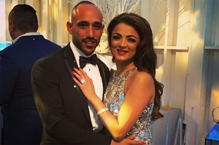 Golnesa Gharachedaghi and Shalom Yeruoshalmi got engaged in December 2016