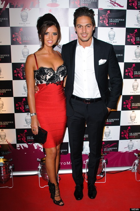 Lucy's Mecklenburgh and Mario Falcone called off the engagement in 2013
