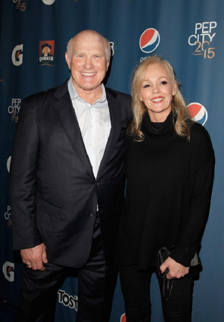 Terry Bradshaw and his Wife Tammy Bradshaw married in 2014
