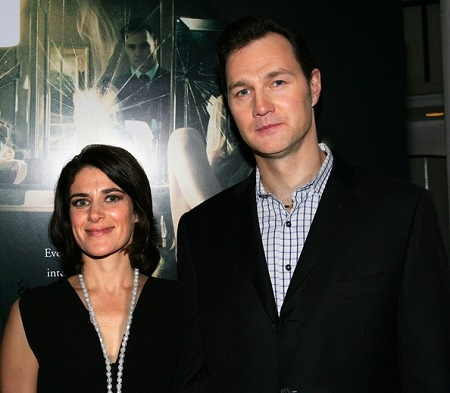 David Morrissey and Esther Freud married since 2006