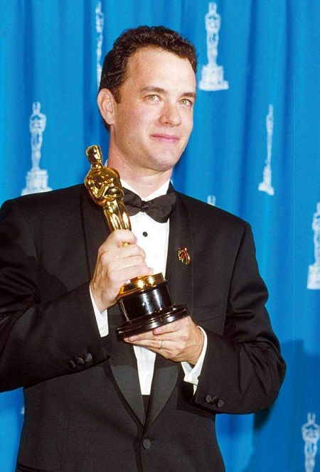 Tom Hanks Oscar for Forest Gump.