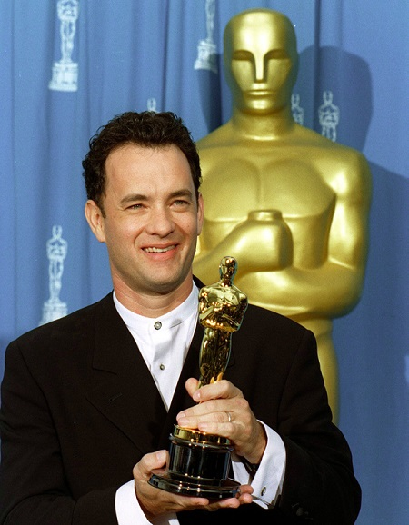 Tom hanks first Oscar for Philadelphia