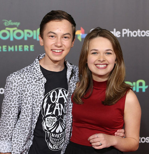 Hayden Byerly and Alyssa Jirrels