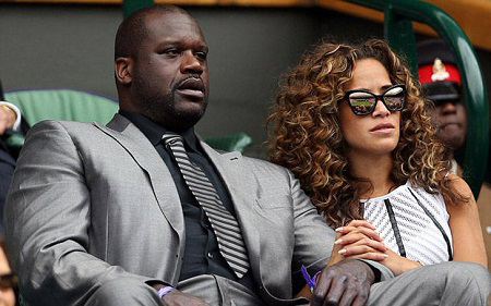 Shaquille O'Neal's dating Laticia Rolle