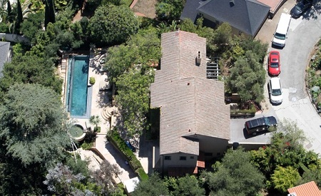 Colin Farrell's house in LA