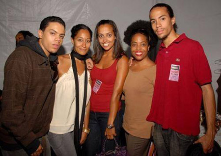 Rhonda Ross Kendrick with her siblings