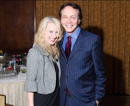 Late Alan Colmes with wife Jocelyn Crowley