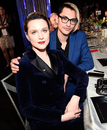 Evan Rachel Wood and Zach Villa The 23rd Annual Screen Actors Guild Awards