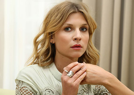 Actress Clemence Poesy