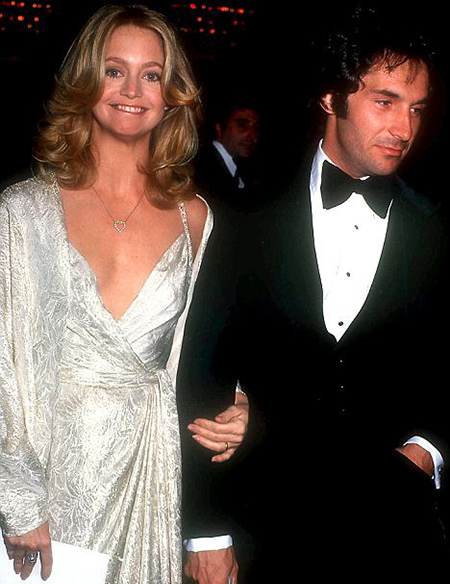 Goldie Hawn and her ex-husband Bill Hudson