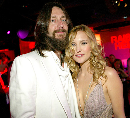 Kate Hudson with her ex-husband Chris Robinson