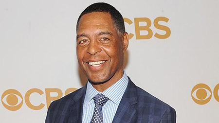 Retired  football star Marcus Allen