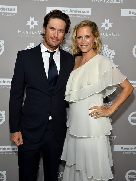Oliver Hudson with his amazing Wife Erinn Bartlett