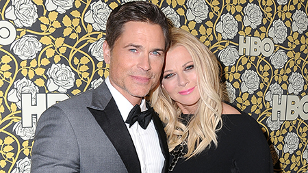 Rob Lowe and his wife Sheryl Berkoff