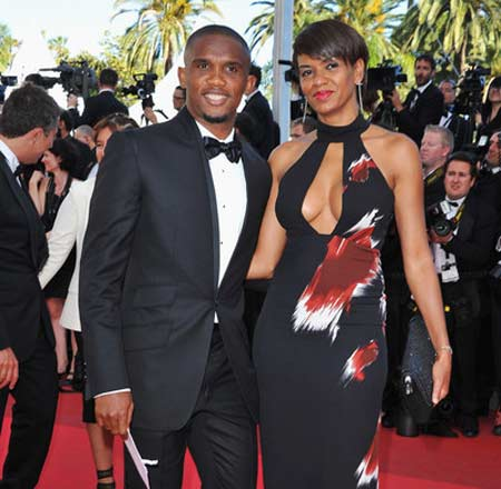 Eto'o and his wife