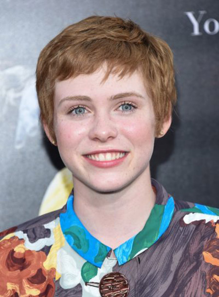 Sophia Lillis at It premiere