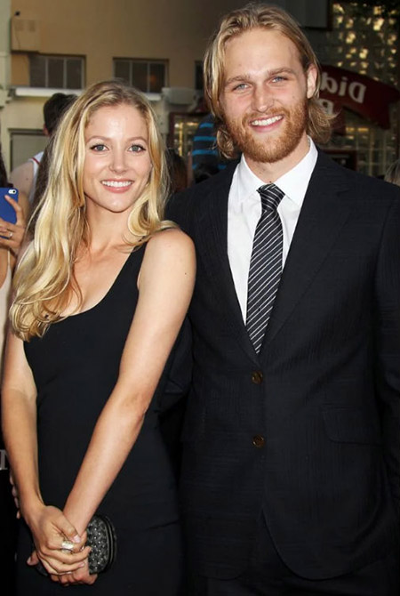 Wyatt Russell and his ex-wife Sanne Hamers