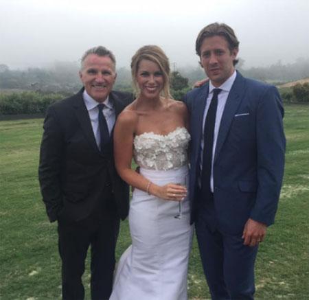 Jenny Taft and Matt Gilroy's wedding ceremony.