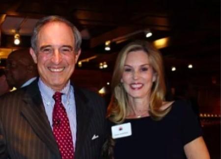 Lanny Davis with nice, Wife Carolyn Atwell