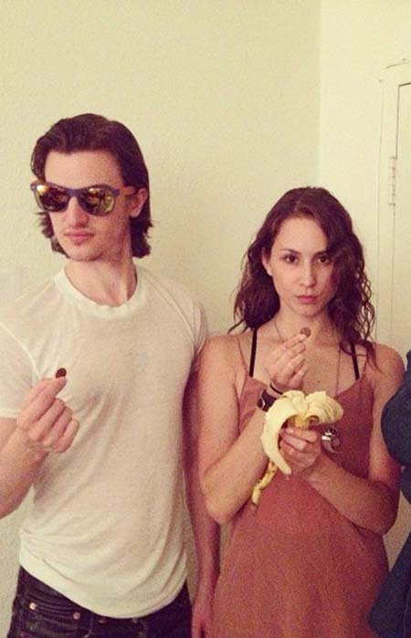 Peter vack and troian bellisario