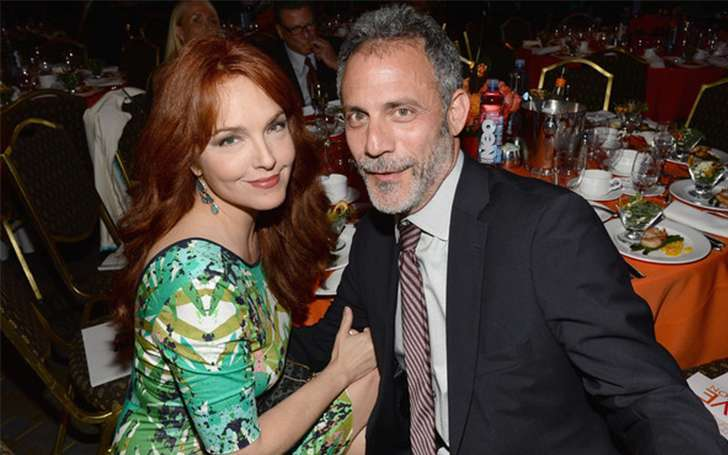 Know about the new found love of actress, Amy Yasbeck, Michael Plonsker: Happy couple: Lost her husband John Ritter in a tragic accident