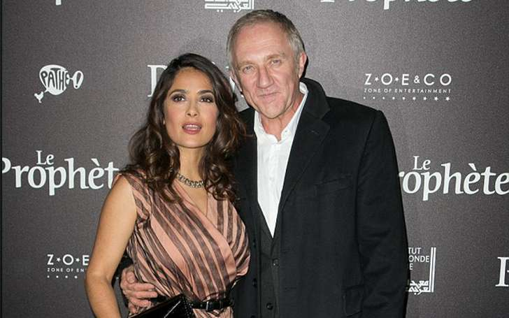 The evergreen romance of Salma Hayek and husband Francois-Henri Pinault. Aren't they Hollywood's favorite couple?