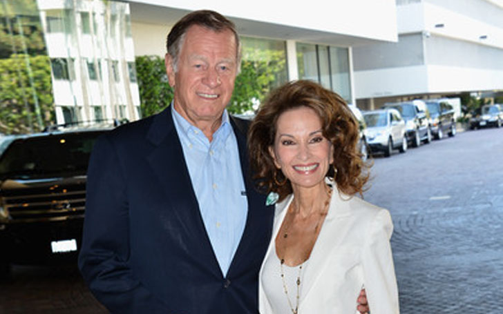 'All My Children' star Susan Lucci is married to Helmut Huber. Couple is together for nearly five decades