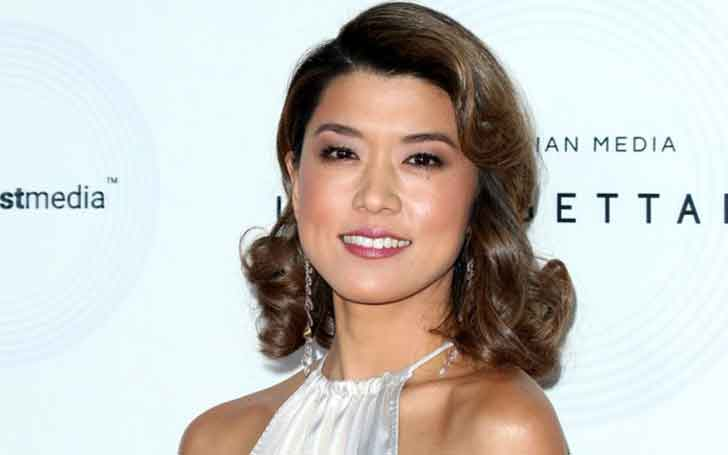 1.75 m Tall 'Edgemont' Actress Grace Park Is In A Married Relation With Phil Kim, And She Has A Child