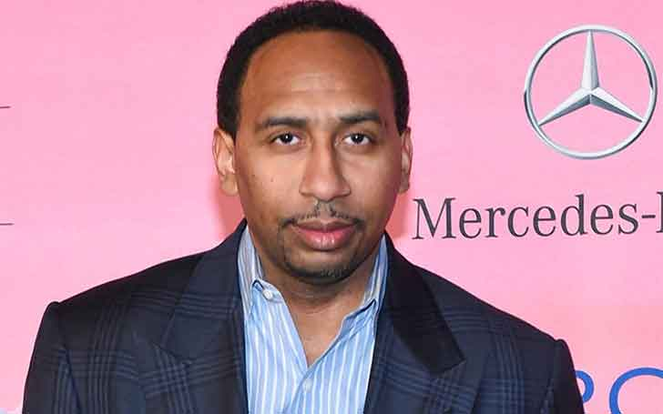 1.85 m Tall American Sports Television Personality Stephen A. Smith Seems Married Secretly; His Affairs And Rumors