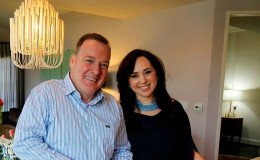 Even after nine years Pastry chef Jacques Torres and his wife Hasty Khoei are happy with their married life