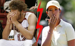 Golfer Michelle Wie and Robin Lopez are in relation.