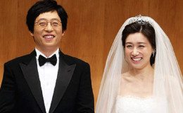 Yoo Jae Suk and his wife Na Gyung-Eun Married since 2008.