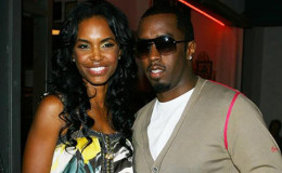 Former couple P. Diddy and ex-girlfriend Kim Porter celebrated the New year together along with their four children