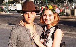 The popular young actor, Dylan Sprouse is dating model, Dayna: Couple's cute PDA's are all over the internet: Revealed his new career