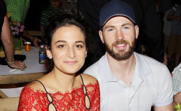 Actor Chris Evans and Jenny Slate are no longer together,