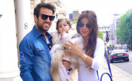It's a Boy!!! Chelsea midfielder Cesc Fabregas and wife Daniella Semaan welcomed their third child; a son to this world
