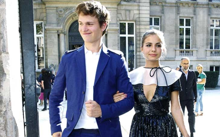 ansel elgort lost his virginity at 14 currently dating ballerina