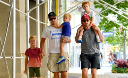 Gay Actor Matt Bomer is Married to Husband Simon Halls, The Couple shares Three Children together, Happy Family