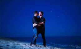 Intimate Nuptial; Actor Colton Haynes tied the knot with American writer Jeff Leatham
