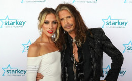 I Don't Wanna Miss A Kiss!! Aerosmith Frontman Steven Tyler Kisses Girlfriend Aimee Preston While Grocery Shopping!!