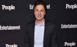 Actor Zach Braff In a Relationship With The Mystery Lady Or