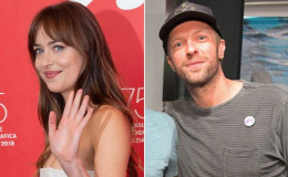 Love Is In The Air; Chris Martin And Dakota Johnson Rocks Matching Tattoos